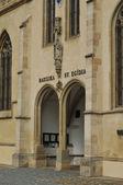Fotografie Gotický kostel brána