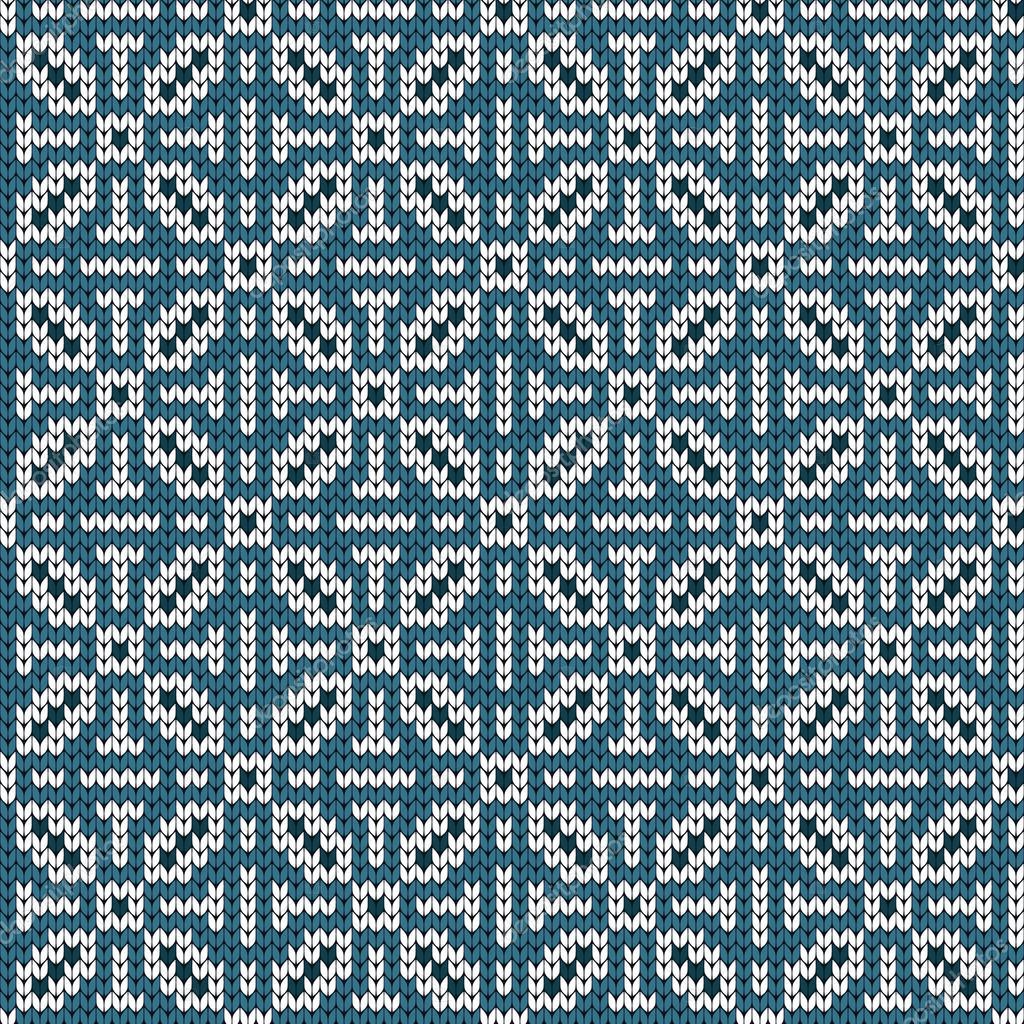 Punto geométrico patrones sin fisuras en estilo noruego — Vector de ...