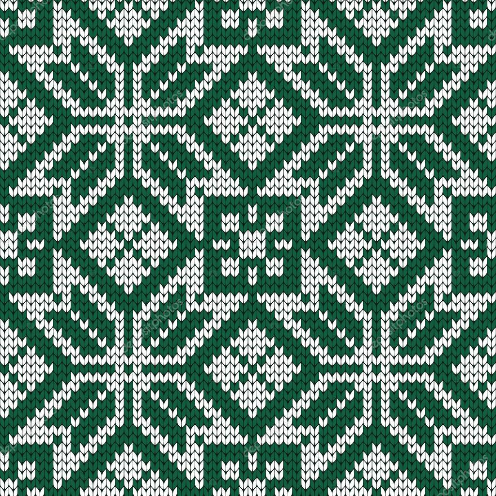 Punto de patrones sin fisuras en estilo noruego — Archivo Imágenes ...