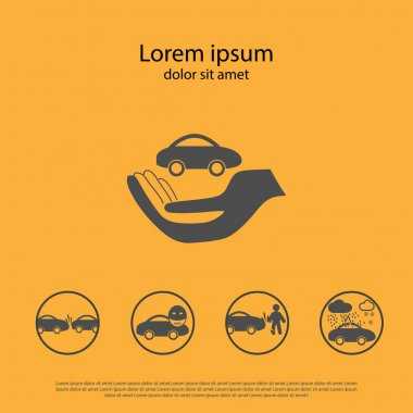 Car insurance Icon.