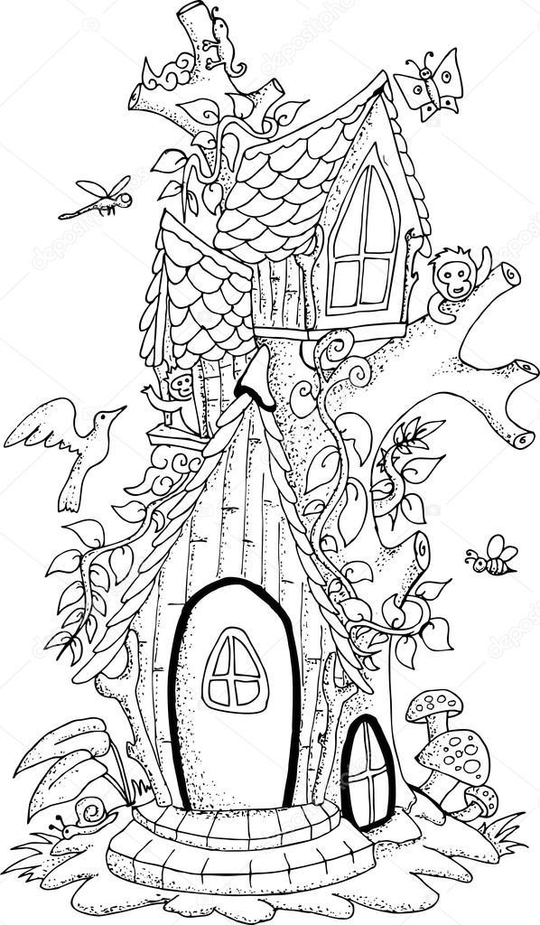 Personas viajando para colorear | Blanco y negro ilustración de una ...