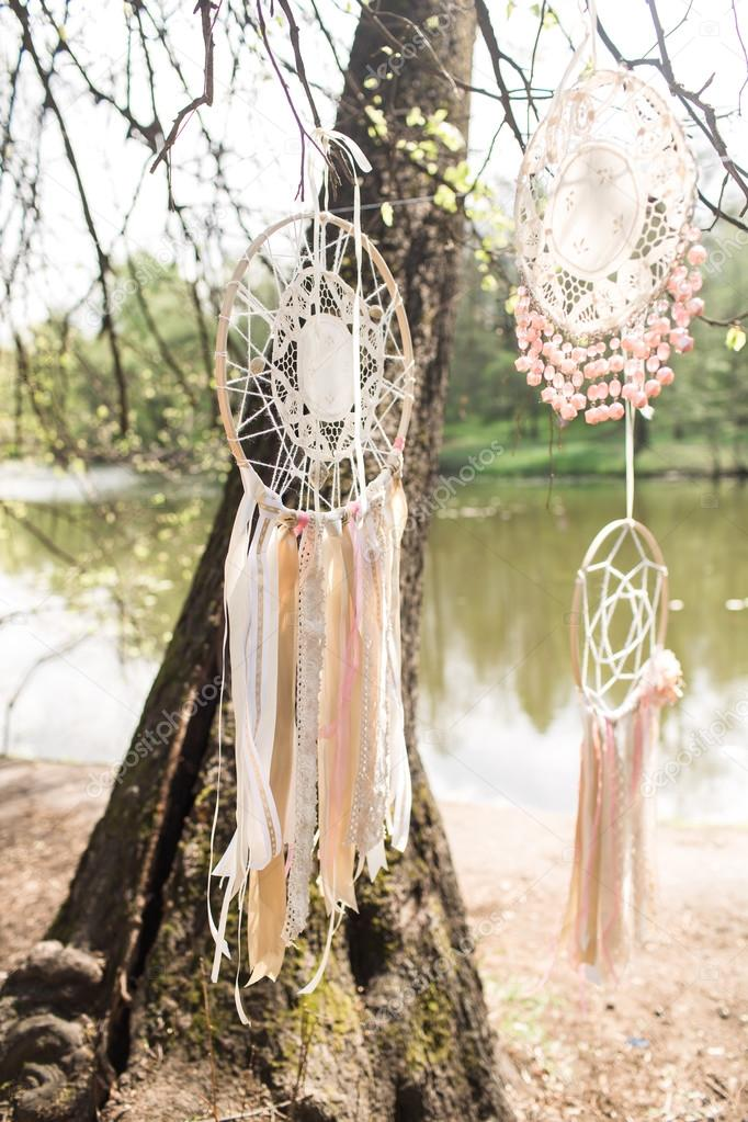 Wedding decoration: Dream catchers