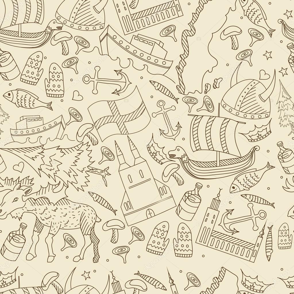 Ilustración de vector retro transparente de Suecia — Archivo ...