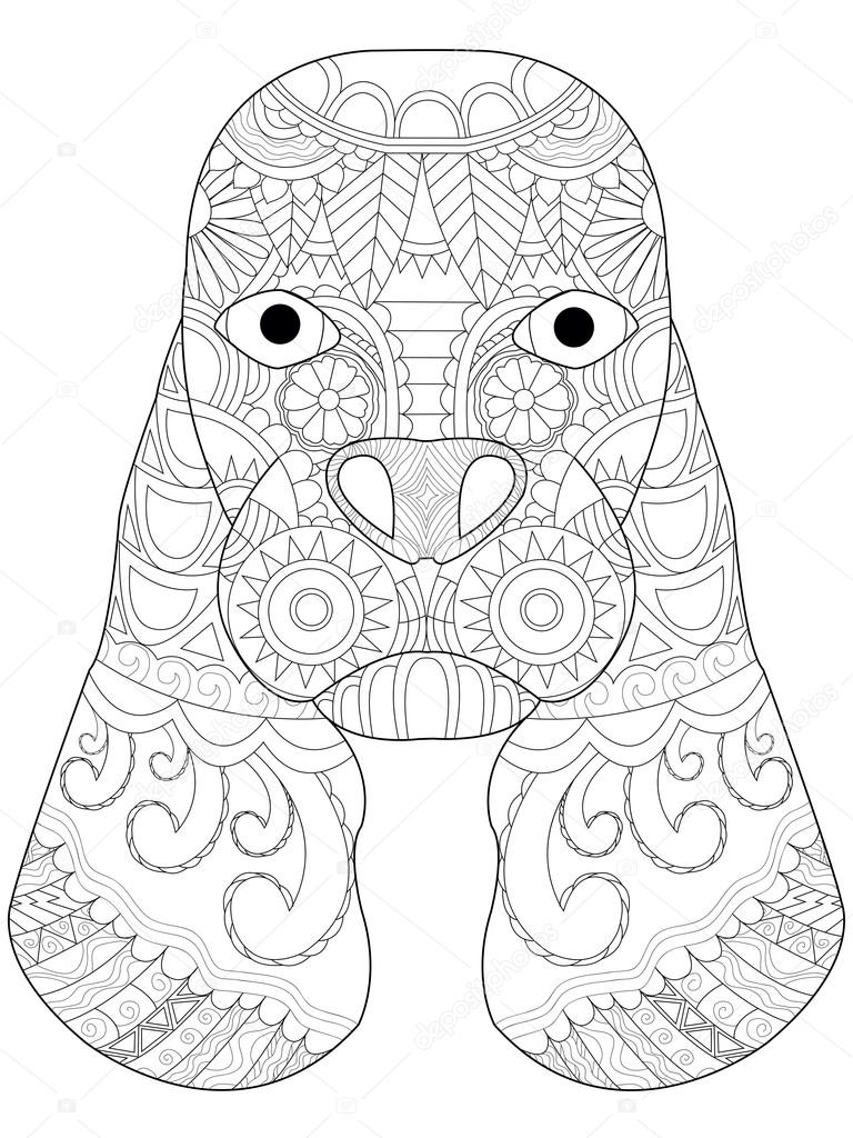 springer spaniel coloring pages - photo#23