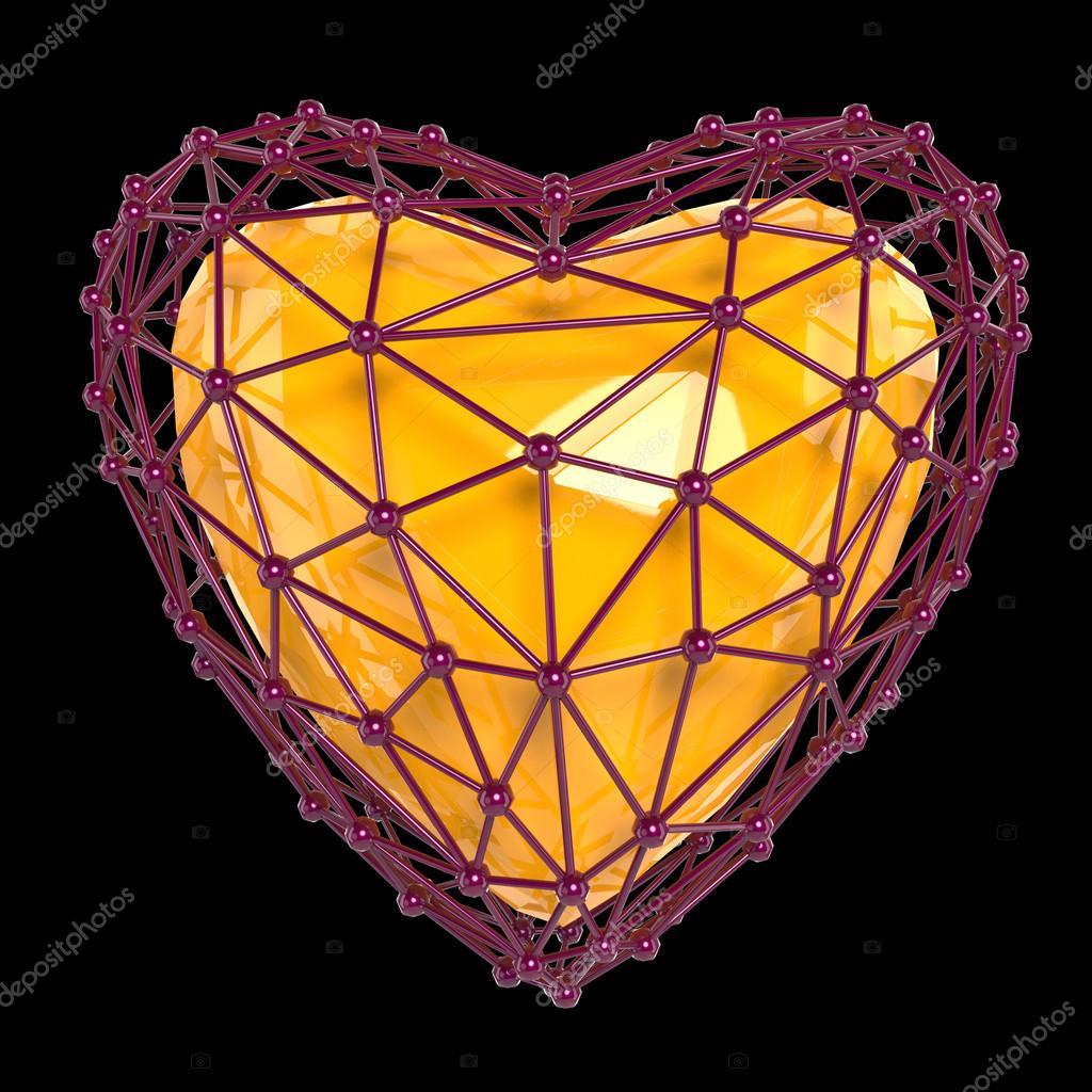 кристаллические сердца с фотографиями всех