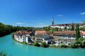 Městské krajiny Berne, Švýcarsko