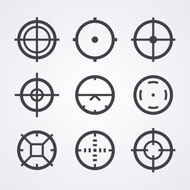 AIM crosshair set icons