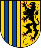 Fotografie Wappen der Stadt Chemnitz. Deutschland