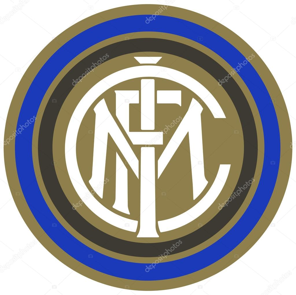 the emblem of the football club inter milan italy stock rh depositphotos com inter milan logo png inter milan logo png