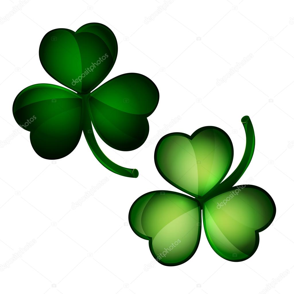 Three Leaf Clovers Stock Vector Agentpe 98234778
