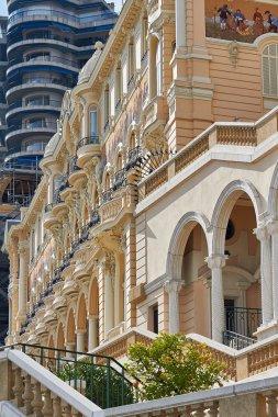 Monte Carlo, Monaco. The city's architecture. Streets, houses,