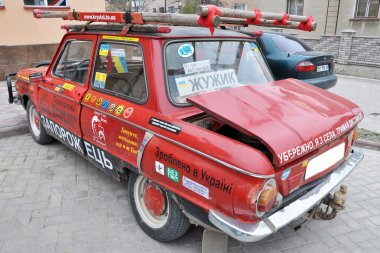 The old Zaporozhets car