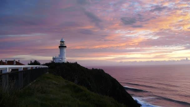sunrise at byron bay lighthouse
