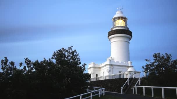 Byron Bay Leuchtturm bei Sonnenuntergang