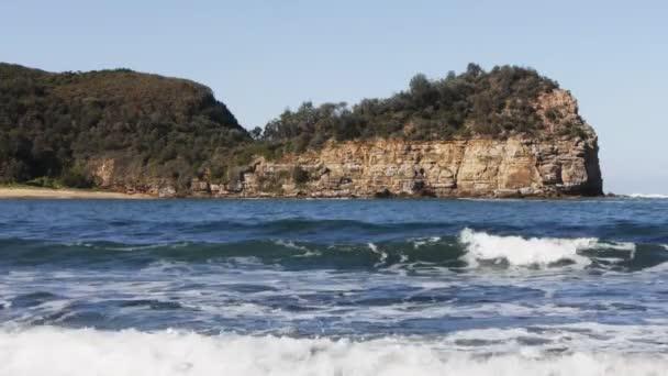 Rocky headland australia