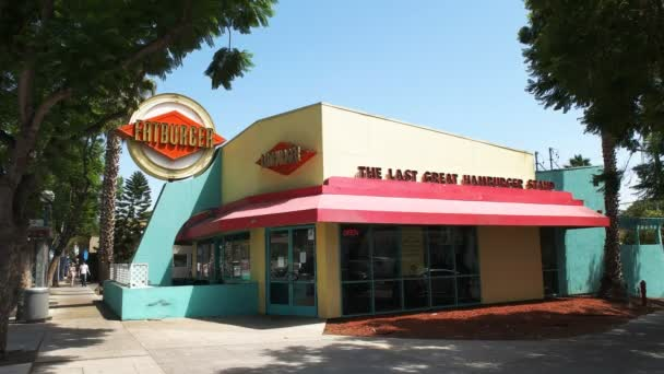 Beverly Hills, Ca, Amerikai Egyesült Államok-augusztus 25 2015-ig: a külső fatburger étterem los angeles, california