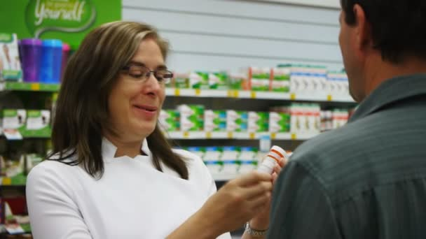 pharmacist counselling customer