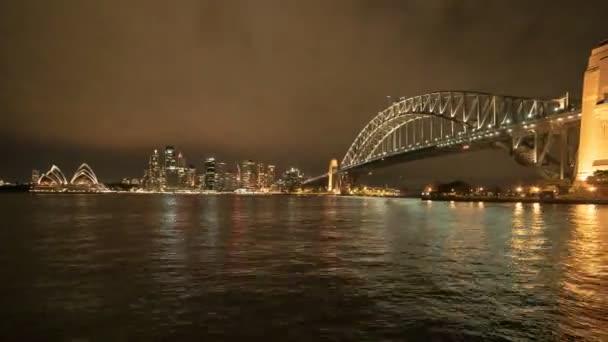 noční čas sydney Harbour