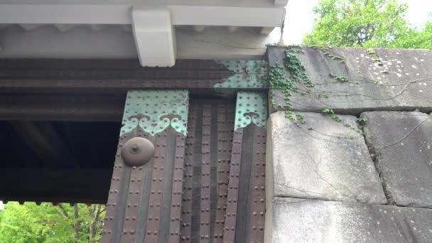 Torscharnier an der nijo-Burg in Kyoto