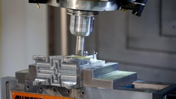 Aircraft building. High-tech robotic manufacturing.
