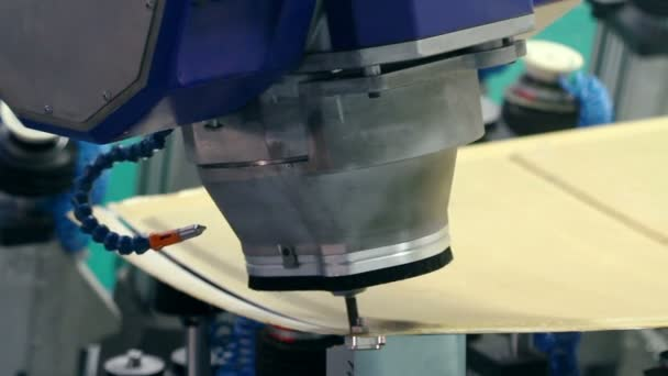 Aircraft industry. Robotic complex for machining composite materials.