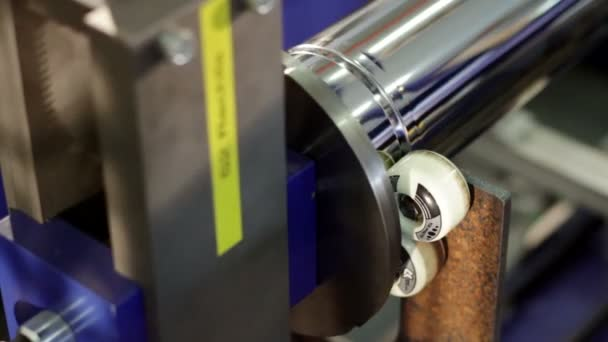 High-tech robotic line for production of metal pipes for flues and vent systems.