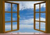 Das Fenster - 3d