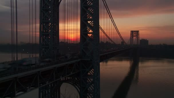 George Washington Bridge Sunrise Timelapse 1
