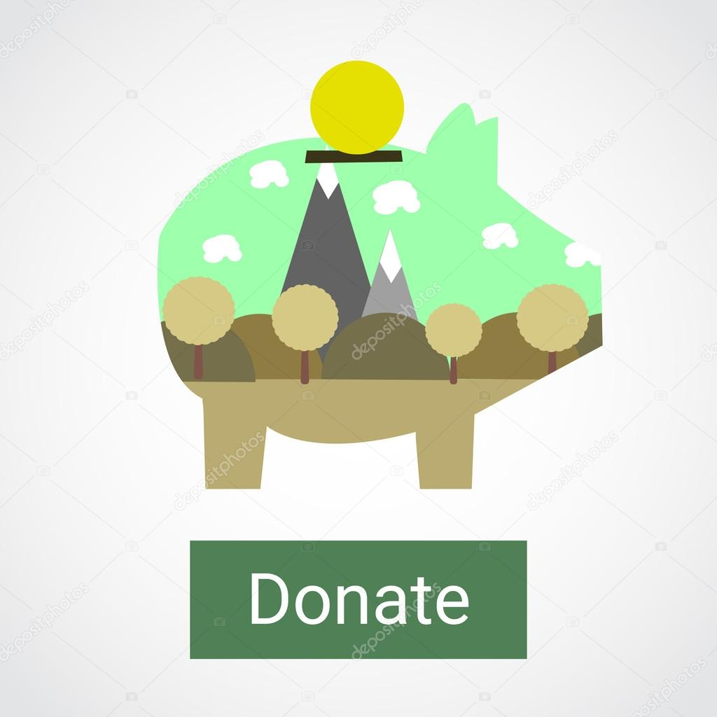 Donations for the preservation of nature