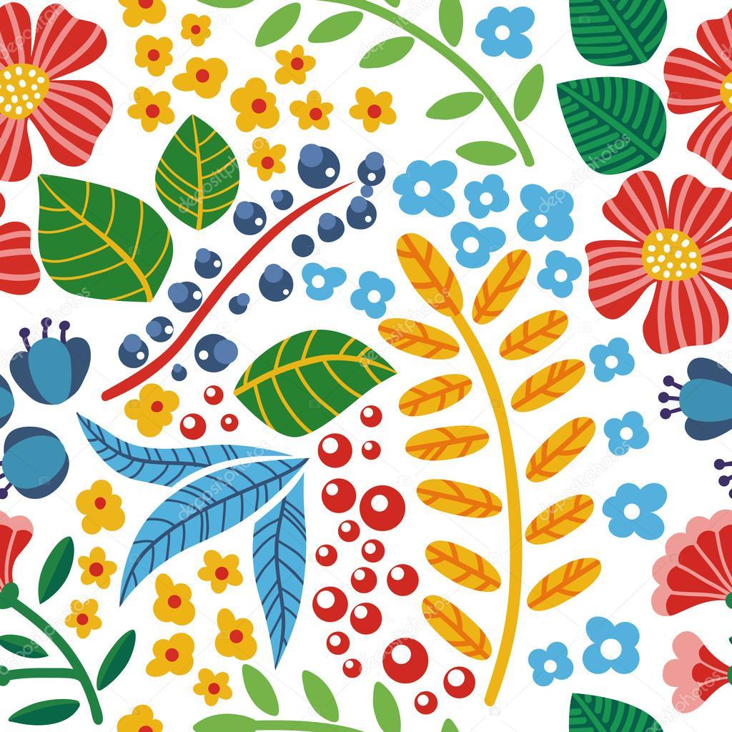 Fondos De Colores Con Flores Patrón Transparente De Colores Flores