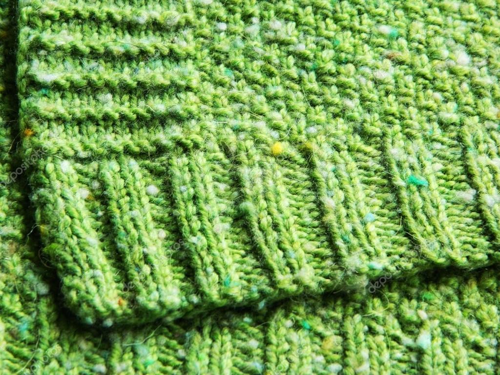 Een Plaid Breien.Groene Plaid Breien Stockfoto C Shaydula Gmail Com 116953876