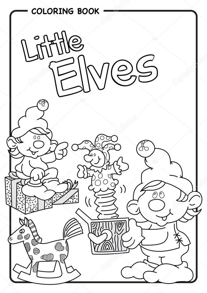 Ayudantes de Santa Claus juegan con el gato en el sorteo de caja ...