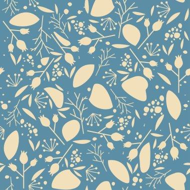 Plants, seamless pattern