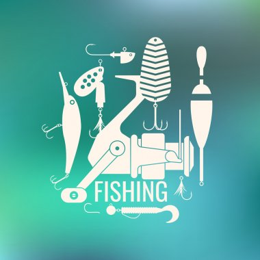 Fishing Icons and illustrations