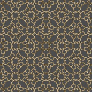 Linear seamless geometric pattern.