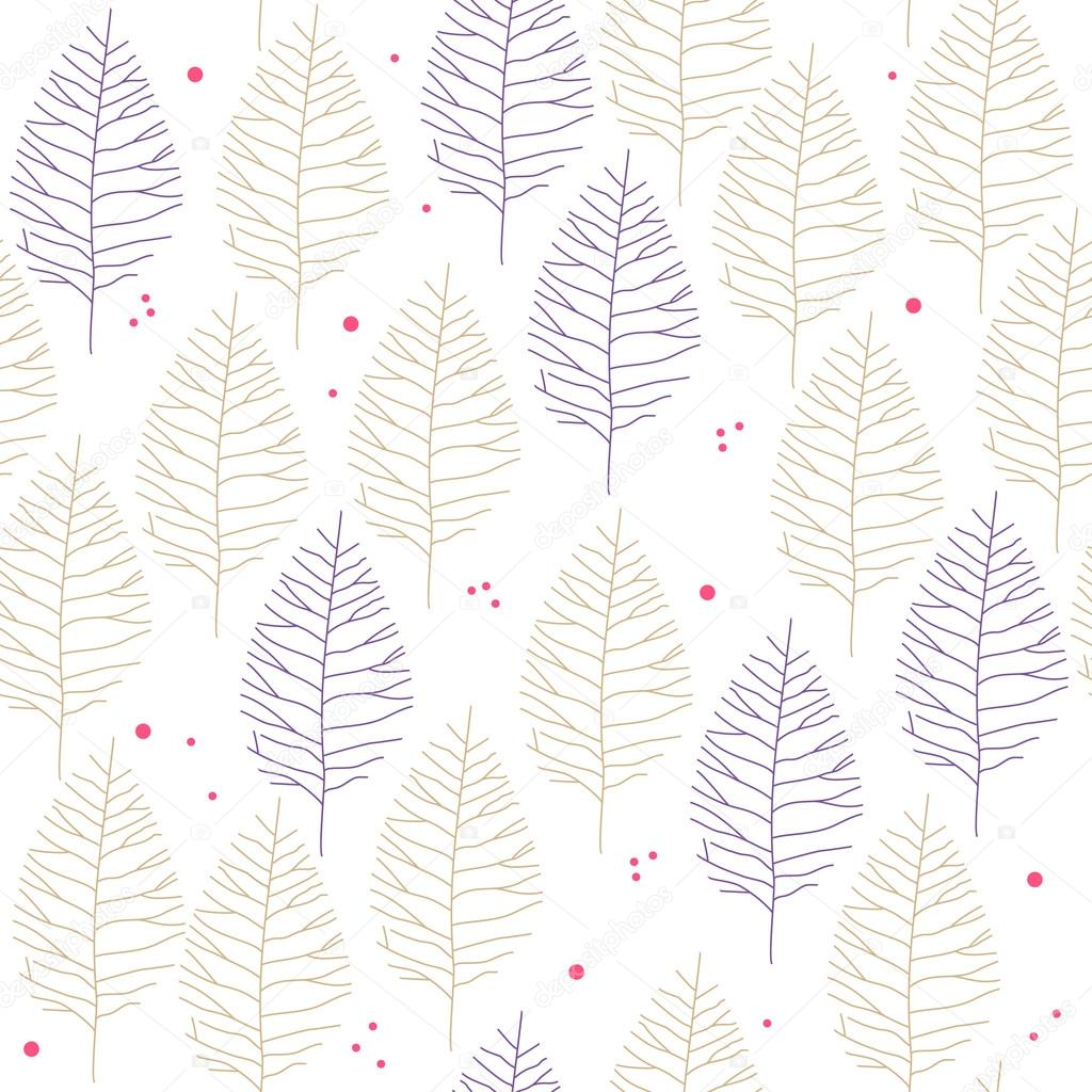 Plants Drawing Wallpaper Drawing Plants Seamless Pattern Can Be Used For Wallpaper Stock Vector C Alekseyderin Gmail Com 98626126