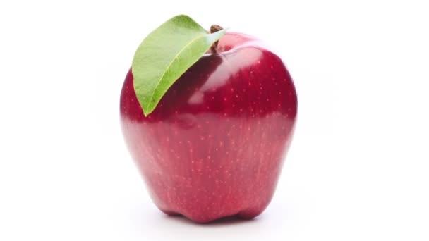 Rotující červené jablko