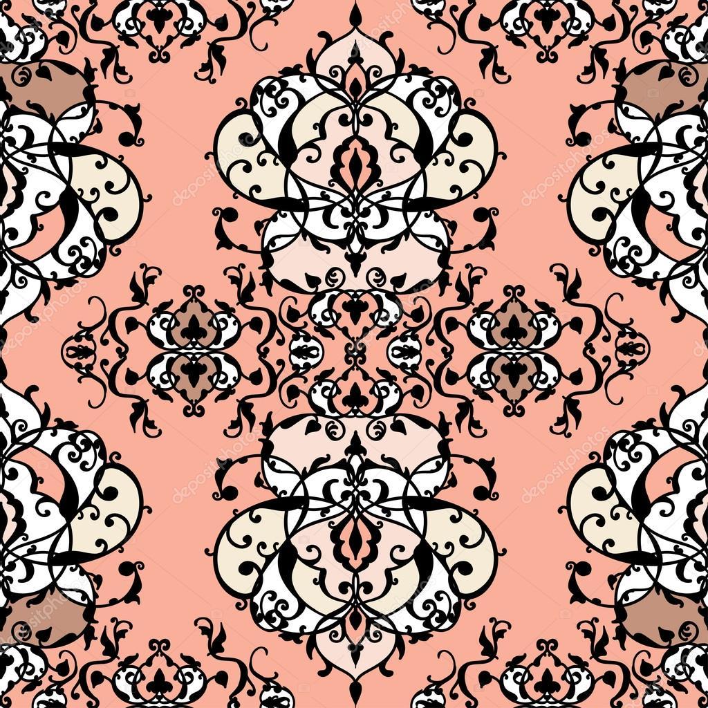 Patrón de patchwork sin costura abstracto vector con adornos ...