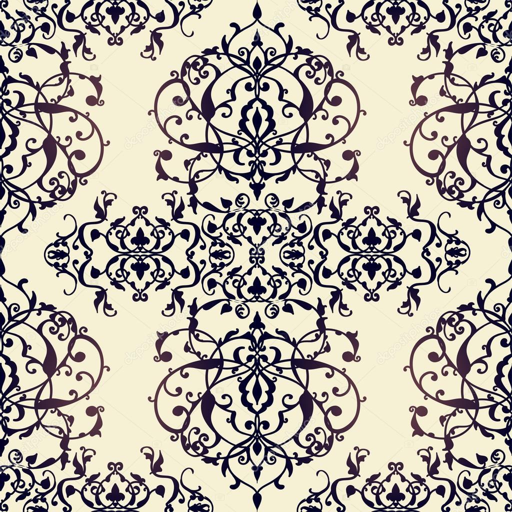 Vector abstracto de patrones sin fisuras con adornos geométricos y ...