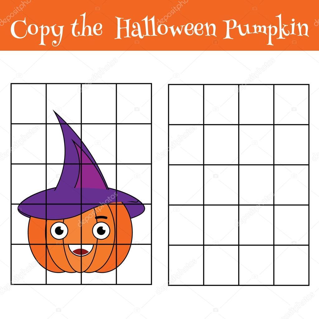 Raster kopieren Kinder Lernspiel, Aktivitäten für Kinder, Halloween ...