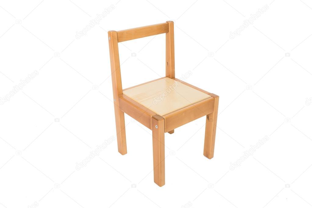 silla de cocina de pino tradicional aislar, muebles de madera ...