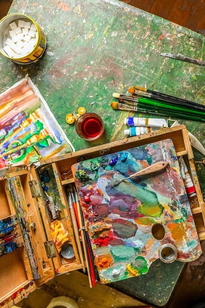 Картинки по запросу краски художник вертикальный
