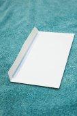 Photo White blank envelope