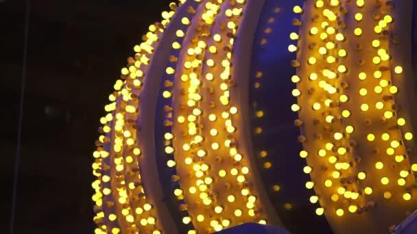 Las Vegas Casino Yellow and Purple Neon Sign  Nevada USA