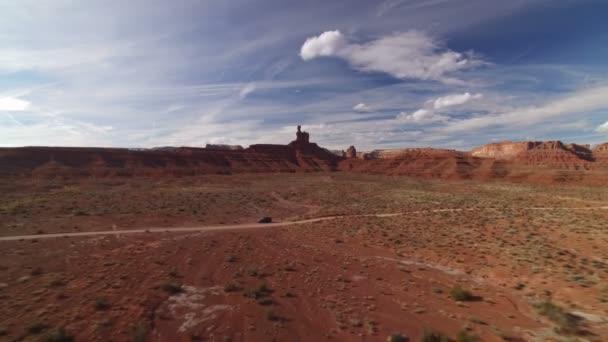 Bears Ears Valley Of The Gods and Cedar Mesa Aerial Shot Southwest Desert Amerikai Egyesült Államok Vissza