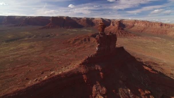 Bears Ears Valley Of The Gods és Cedar Mesa Aerial Shot Southwest Desert Amerikai Egyesült Államok Forgassa L Elevate