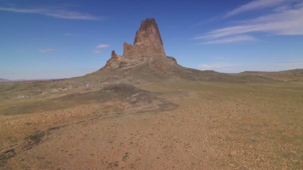 Monument Valley Agathla Peak Aerial Shot Of Southwest Desert Amerikai Egyesült Államok Forgassa R