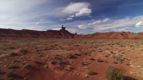 Bears Ears Valley Of The Gods Aerial Shot Southwest Desert Amerikai Egyesült Államok Dolly L