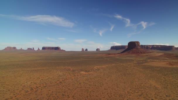 Monument Valley Mesa és Buttes délnyugati sivatag USA balra