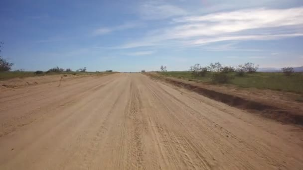 Driving Template With 3 Axis Stabilizer Desert Dirt Road 02 African Savanna or Mid East